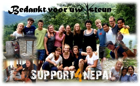 Siohosting steunt Support4Nepal